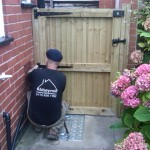 New Wooden Gate in Selston